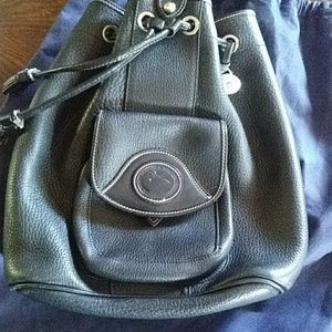 Dooney and Bourke one strap backpack style purse